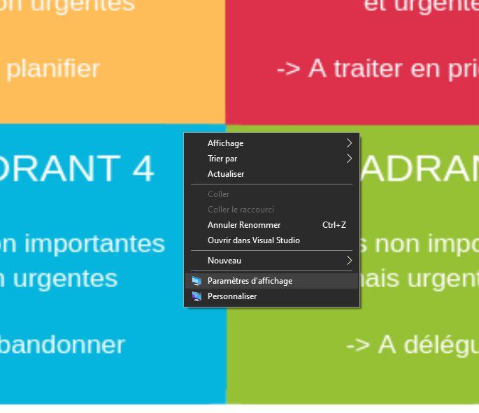 Personnaliser Le Fond D Ecran De Windows 10 Informatik La Kour Informatik La Kour